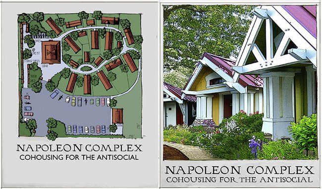 Napoleon Complex is a Community for the Tiny House Movement : TreeHugger