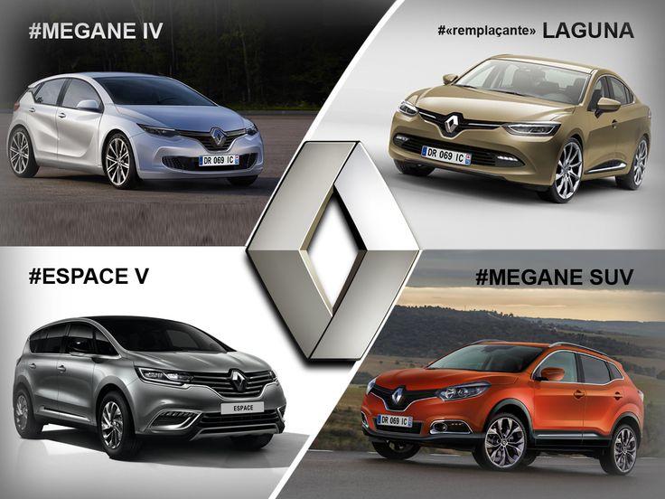 Les futures Renault de 2015 et 2016