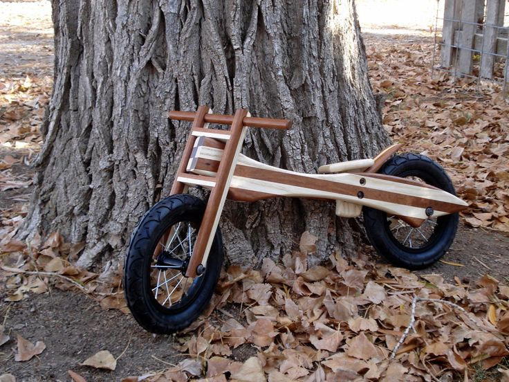 Wooden Push Bike - by Helipilot @ LumberJocks.com ~ woodworking community