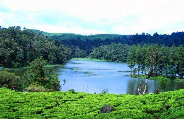 Tempat Wisata Alam Yang Ada Di Bandung Jawa Barat Danau Pemandangan Indonesia