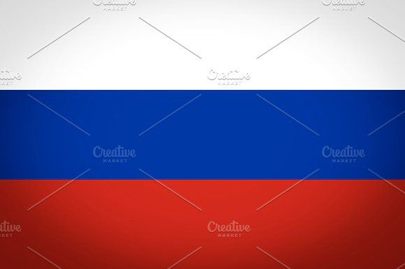 Flag of Russia. Europe #flags