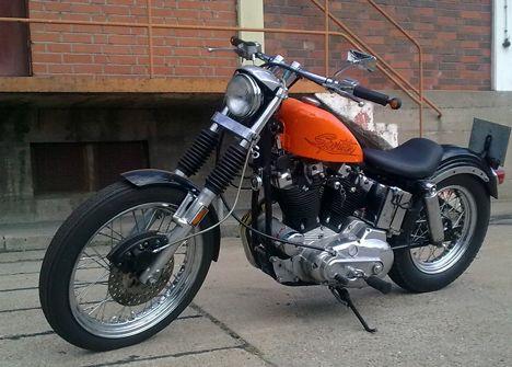 1977 Harley Davidson Ironhead Engine wwwpicturesso