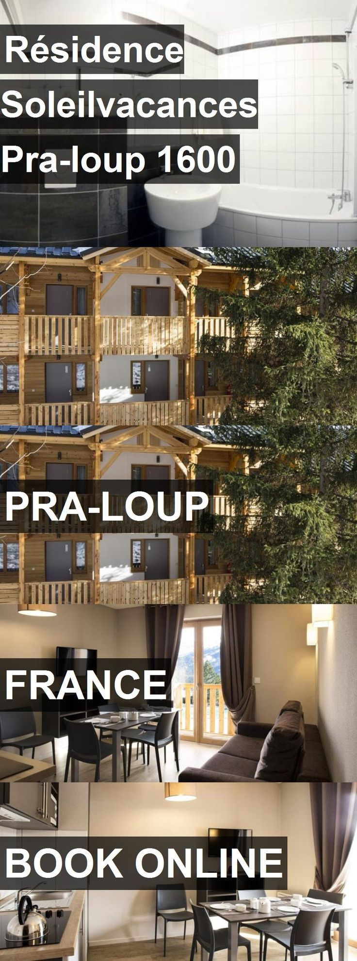 Hotel Résidence Soleilvacances Pra-loup 1600 in Pra-Loup, France. For more information, photos, reviews and best prices please follow the link. #France #Pra-Loup #travel #vacation #hotel