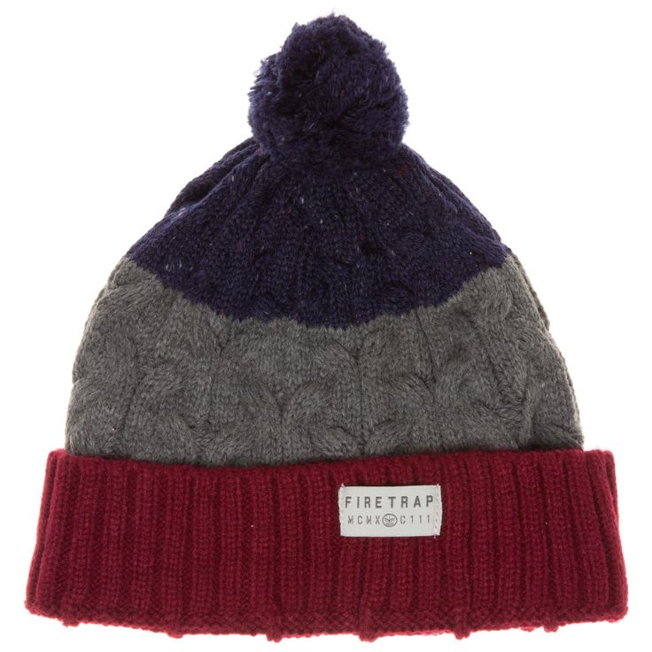 Firetrap Bobble Hat - Accessories - SOLETRADER OUTLET