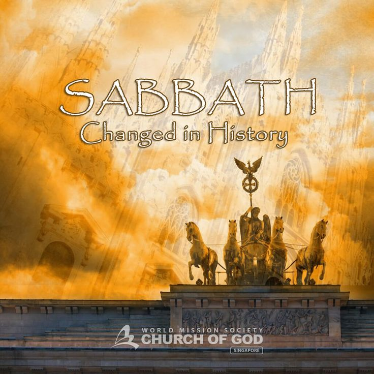 Sabbath:Changed in History = During the long history of Christianity, this law of God was suppressed, changed, and eventually, forgotten by us. #Sunday is made by men and has nothing to do with salvation. #Sabbath, on the other hand, contains God's bountiful blessings.