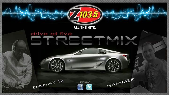 The Hammer & DJ Danny D (Rush Hour Relief) Weekdays 5:00 - 6:00