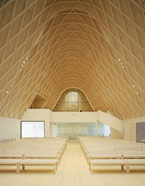 Kuokkala Church by Lassila Hirvilammi #architecture #religious-buildings