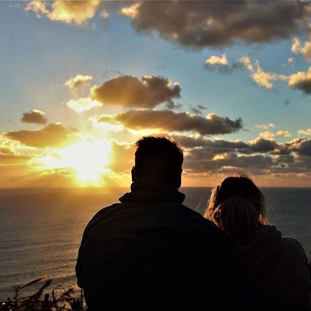 Taking a moment to just enjoy something that happens every single day . The Sun will rise at the start of the day and will set as the day comes to an end.  Take a moment to enjoy this beautiful thing with someone you truly love . Nothing beats it.