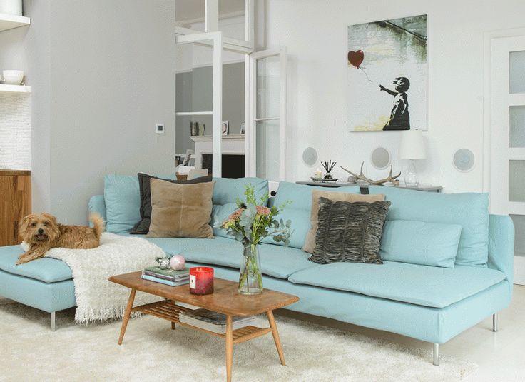 Best Blue Corner Sofas Ideas On Pinterest Light Blue Couches