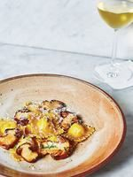 Potato and Cheese Ravioli With Porcini Mushrooms Recipe | SAVEUR