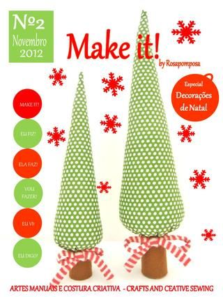 Make it! nº2 A sua revista de costura criativa e muito mais!
