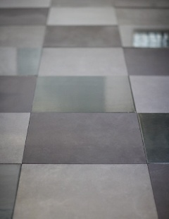 Lavastones and handdecorated cotto tiles by Made A Mano.
