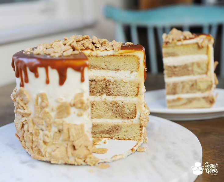 Cinnamon toast crunch cake recipe sugar geek show