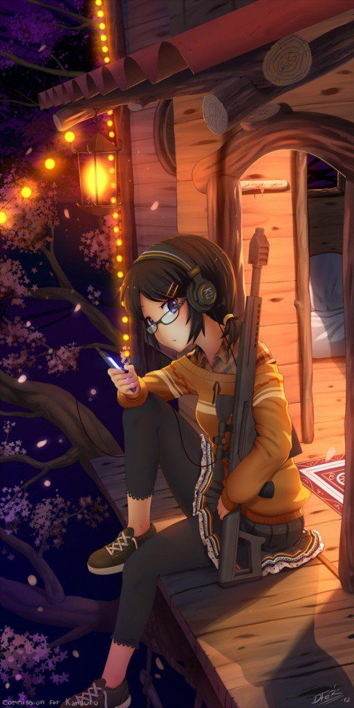 comm – Kana Yoshiko - 50 Examples of Anime Digital Art   Art and Design
