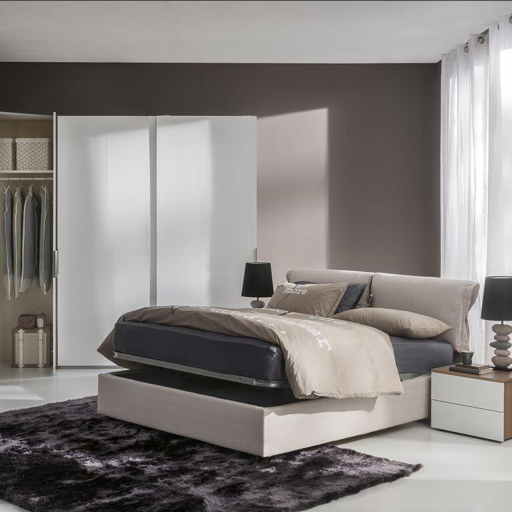 Semeraro letto con contenitore dea inspiration home - Semeraro camere da letto ...