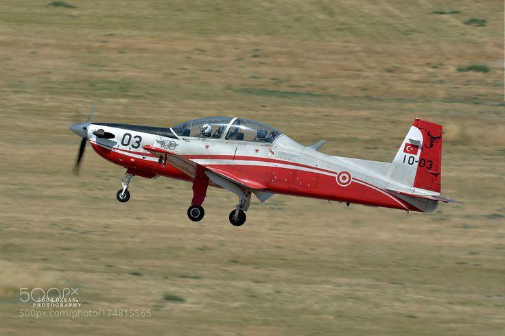 Turkish Air Force KT1T 122 SQ by ugurphoto