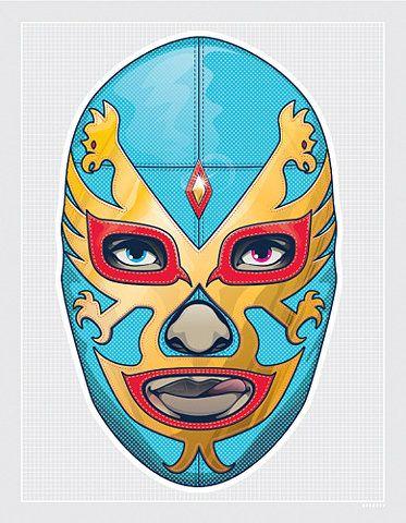Lucha Libre, wrestling mask