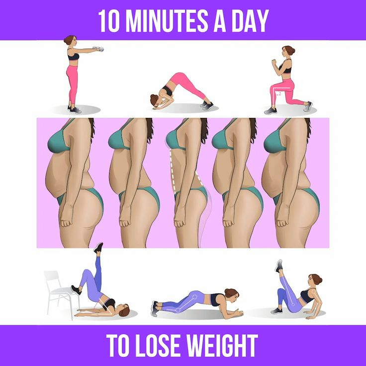 Lose the Weight with 10-Minute Workout at Home