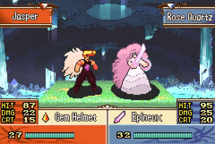 Fire Emblem GBA Style Steven Universe sprites (First time posting here not sure if this kind of post is allowed)