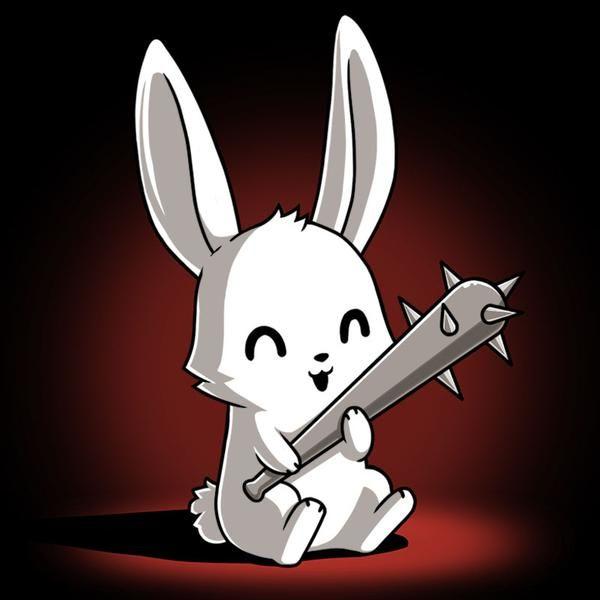 злой кролик картинки прикол обоями