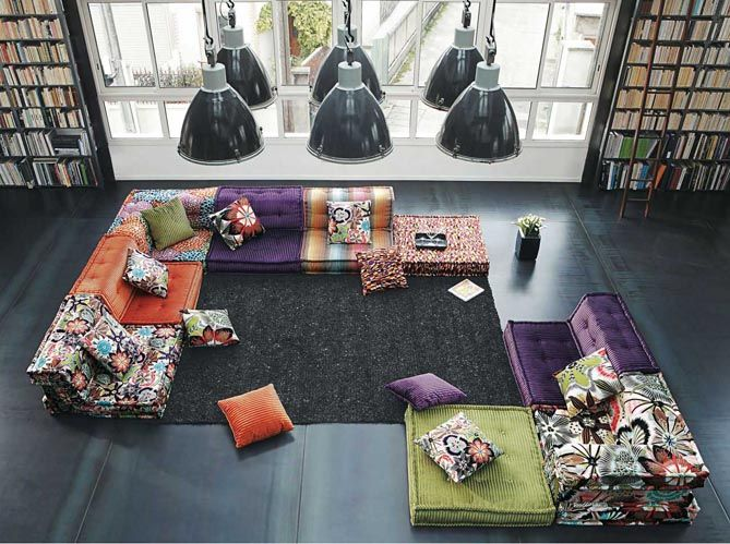Le canap mah jong for Catalogue canape roche bobois