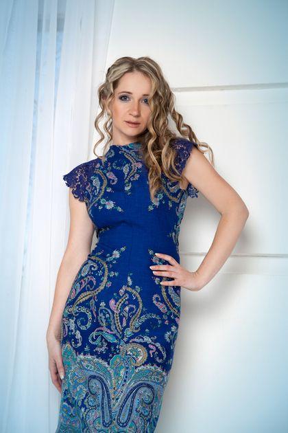"""Платья ручной работы. Ярмарка Мастеров - ручная работа Платье 46 размера """"Незнакомка"""". Handmade."""