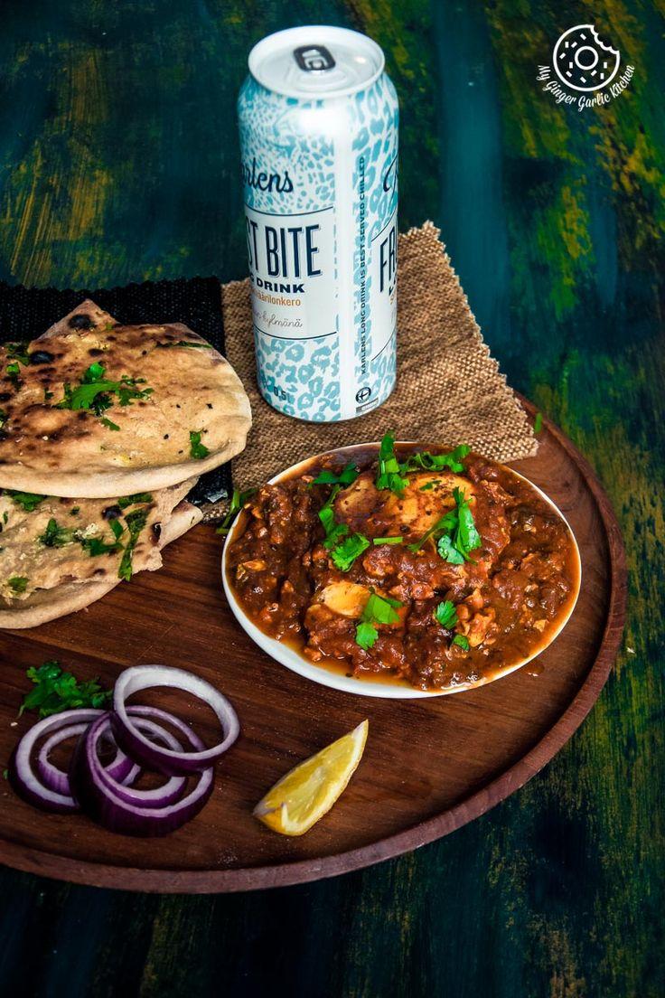 Ei Drop Curry |  Andhra-Stil Pochiertes Ei Curry |  Mygingergarlickitchen.com/ @anupama_dreams