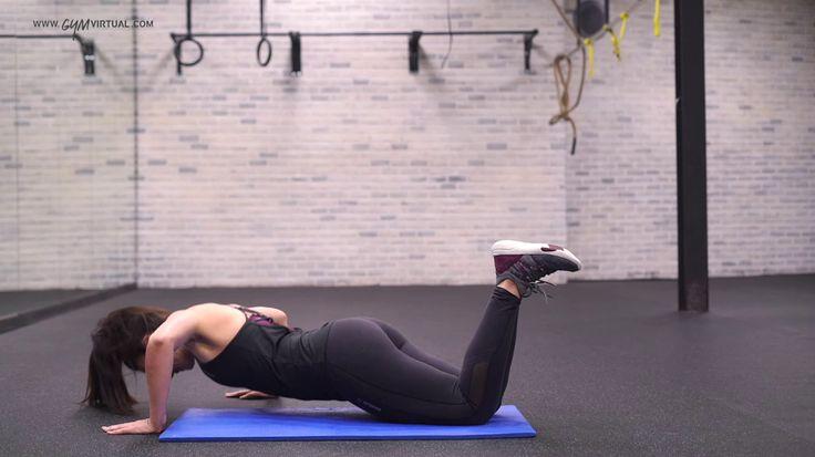8. Flexión lateral x10 rept.