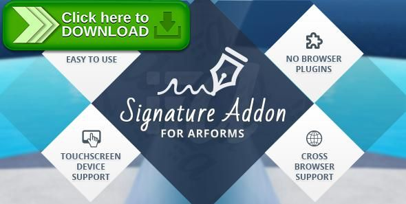 [ThemeForest]Free nulled download Signature Addon for Arforms from http://zippyfile.download/f.php?id=53494 Tags: ecommerce, addon, arforms, digital signature, form builder, signature, wordpress form