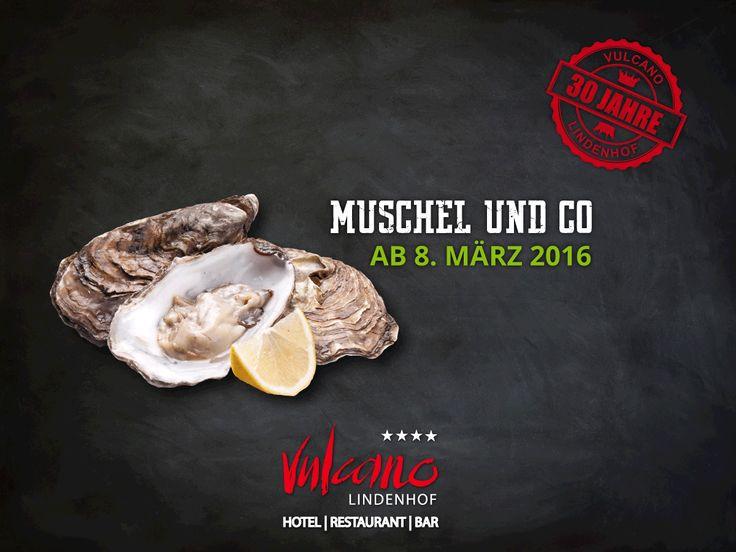 MUSCHEL & Co | ab 8. März 2016 Jakobsmuscheln; Miesmuscheln; Herzmuscheln; Austern...