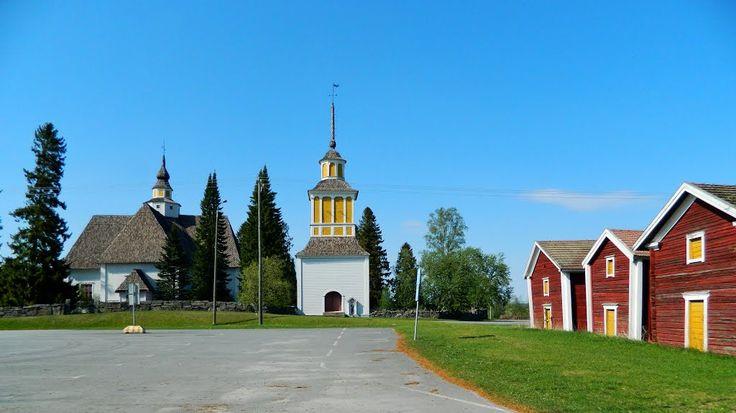Nurmo Lutheran Church. South Ostrobothnia province of Western Finland. -  Etelä-Pohjanmaa, Nurmon kirkko. - photo rai-rai