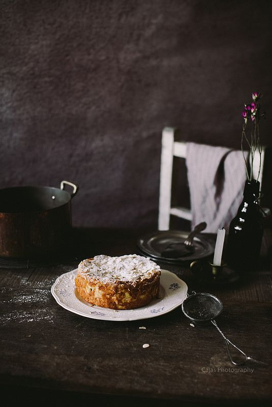 Pear and Almond Clafoutis