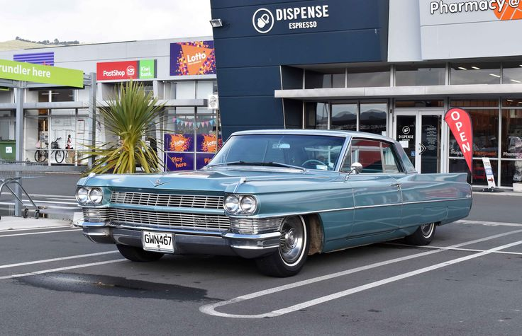 https://flic.kr/p/V15Yh2 | 1964 Cadillac Coupe Deville | The Cars of Christchurch, New Zealand