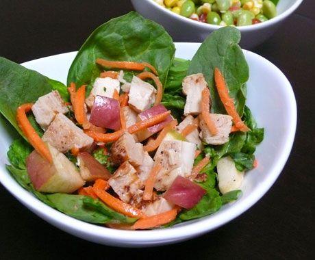 Crunchy Asian Chicken Salad - Smackchow.com