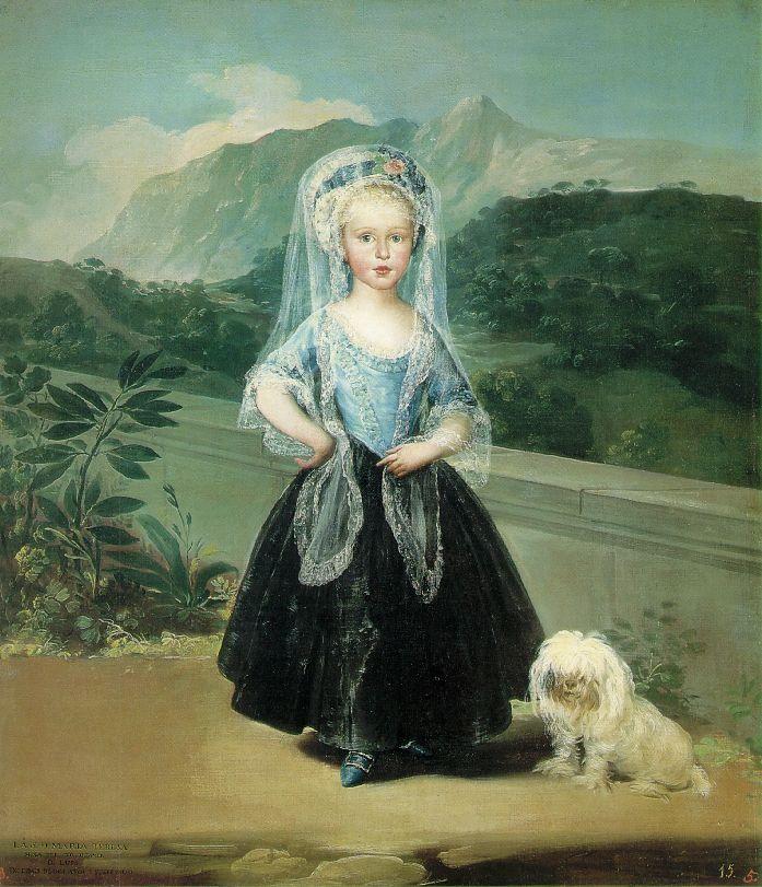Maria Teresa de Borbon y Vallabriga (1783) Francisco de Goya (1746 - 1828)