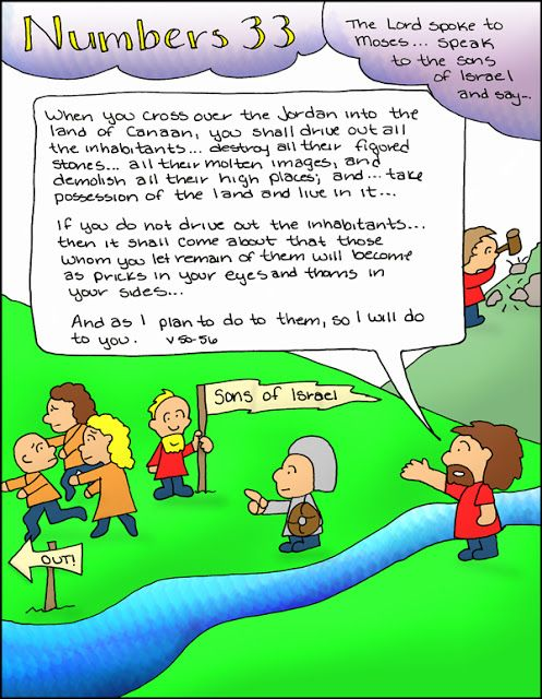Doodle Through The Bible: Numbers 33  Free coloring page available at the website :)