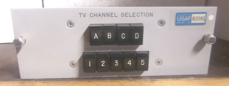 Philco Ford - TV 20 Channel Selector Assembly - P/N: 1212808-501 (NOS)