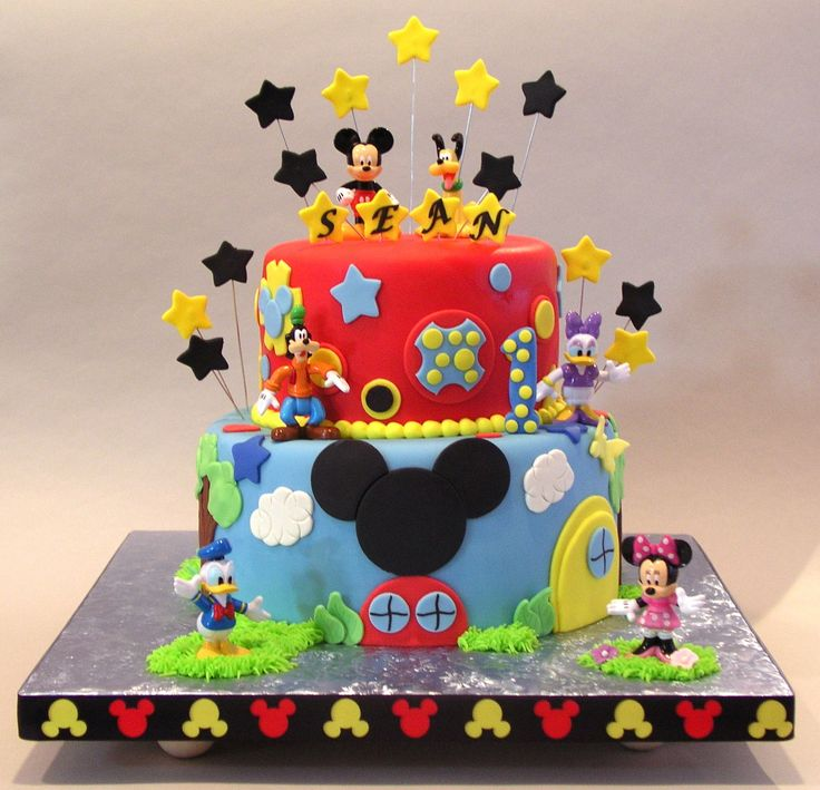 Best 25 Mickey Mouse Cake Images Ideas On Pinterest