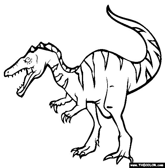 baryonyx coloring page free baryonyx online coloring projects to try pinterest coloring. Black Bedroom Furniture Sets. Home Design Ideas
