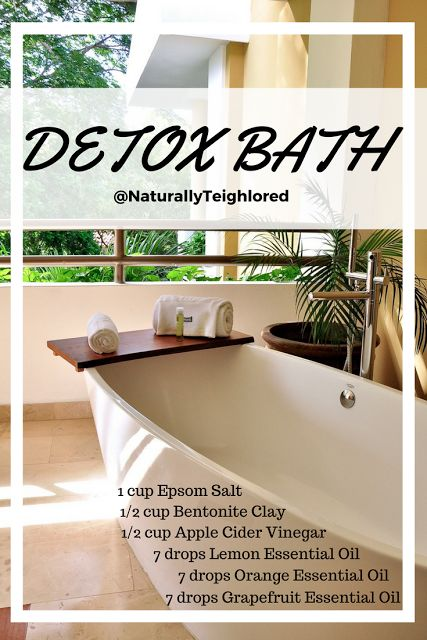 NaturallyTeighlored: How to Release Toxins With This Amazing Clay Detox Bath You'll Love. Get rid of toxins. clear acne. DIY detox bath. Bath detox recipe