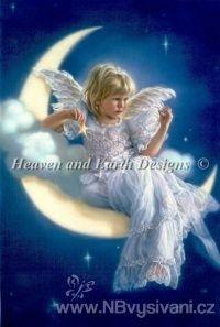 HAED - Moon Angel (Aida 18ct)