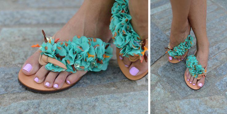 Mojito Green Flip-flop! BonbonSandals