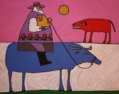 Painting by my dad. John kuchera