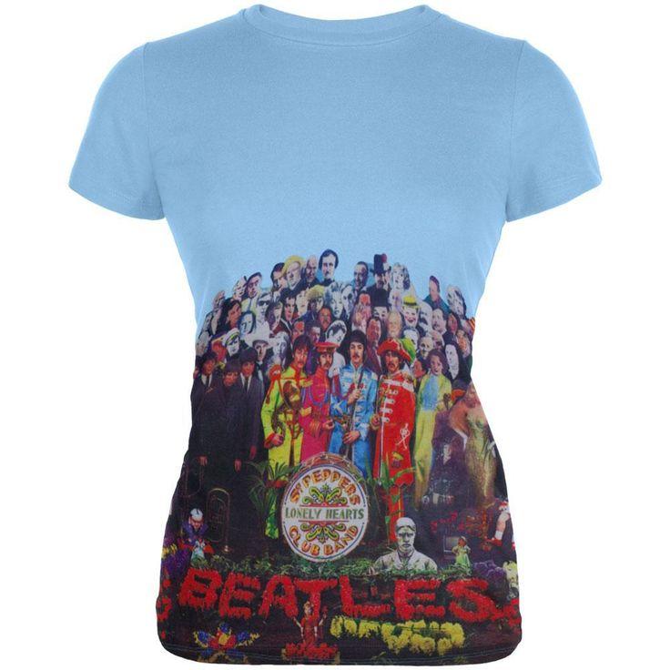 The Beatles - Sgt. Peppers Album Sublimation Juniors T-Shirt