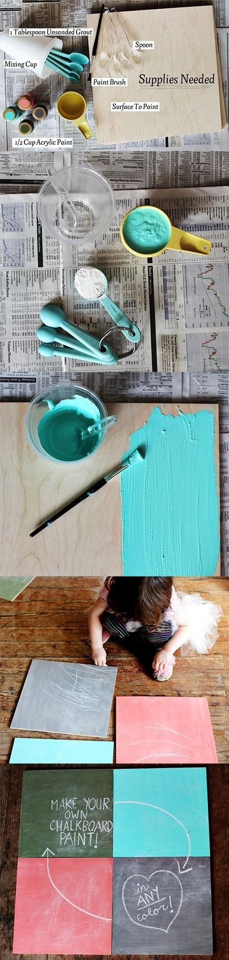 17 best images about chalkboard on pinterest fonts for Diy chalk paint problems