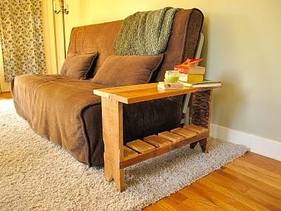 end table pallet DIY