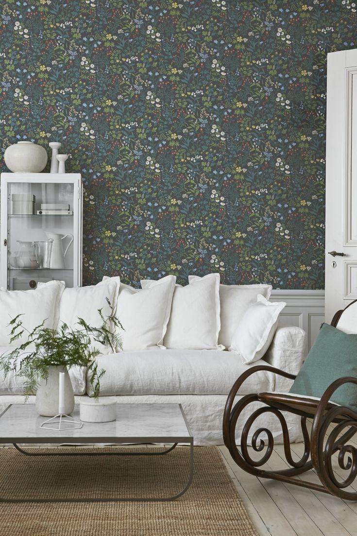 Jubileum - Flora #boråstapeter #Jubilieum #wallpaper
