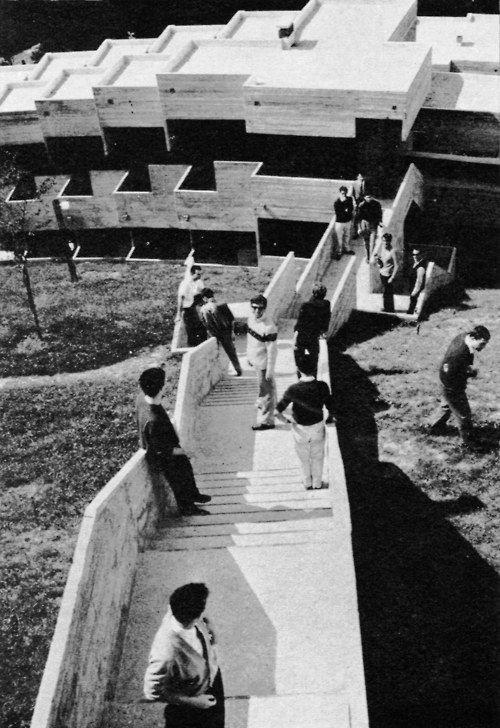 University College, Urbino, Italy, 1958-1976