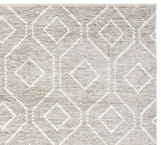 Darcy Rug - Gray  pottery barn- master or living rug option  swatch ordered