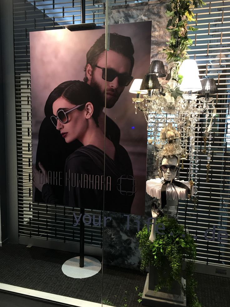 """GATES EYEWEAR, Newmarket, Auckland, New Zealand, """"I have to admit, I am a bit of a contradiction. I have a weakness for minimalist fashion, but I am not a purest"""", for Blake Kuwahara Eyewear, created by Ton van der Veer"""
